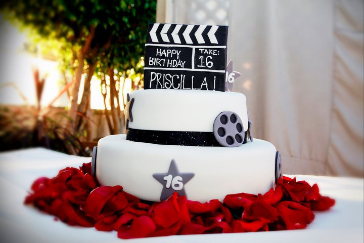 Astonishing Hollywood Cake Funny Birthday Cards Online Overcheapnameinfo